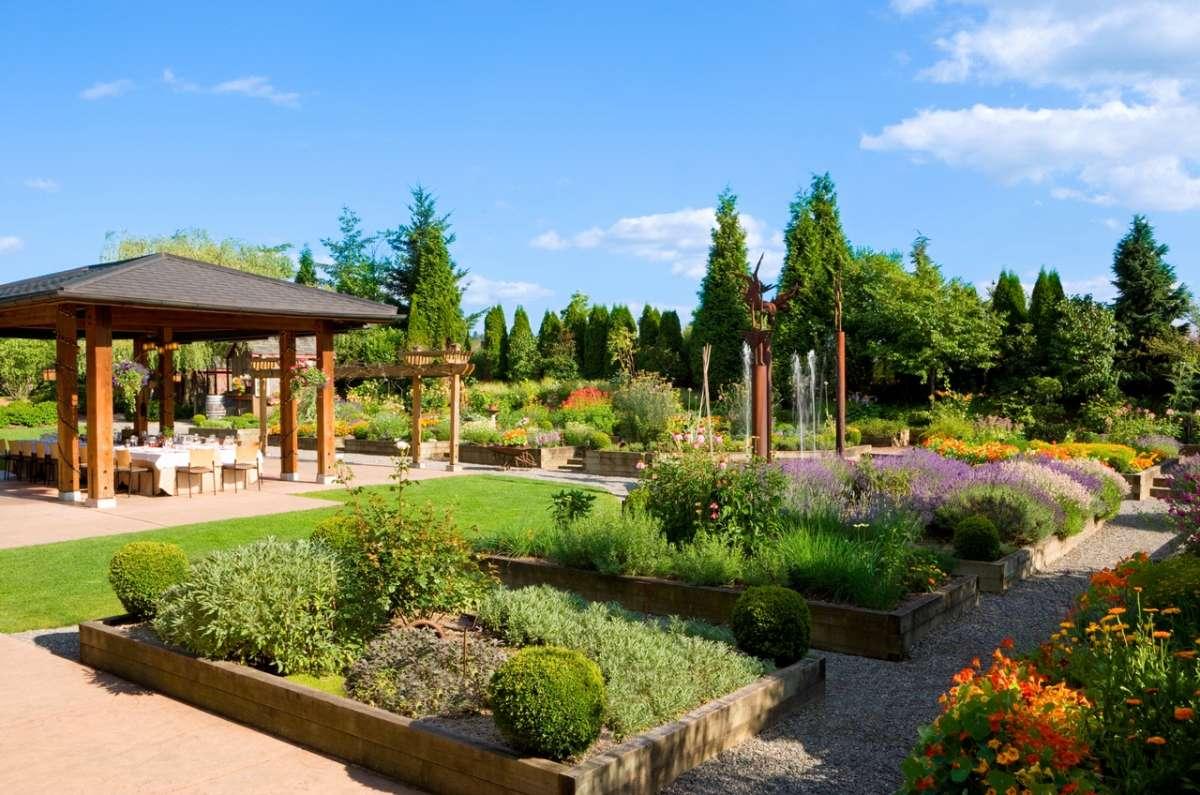 Willows Lodge à Woodinville, Washington.