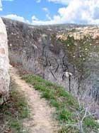 Vue du sentier Prater Ridge