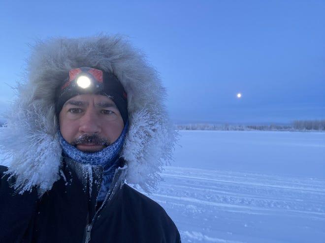 Ryan Wanless a commencé le voyage de 350 milles du sentier Iditarod le 28 février et devrait le terminer le 8 mars.
