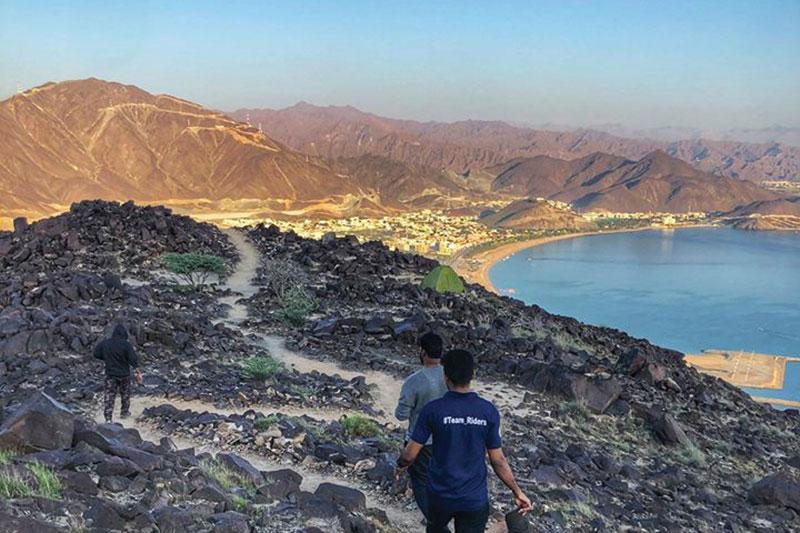 Sentiers de montagne Al Rabi