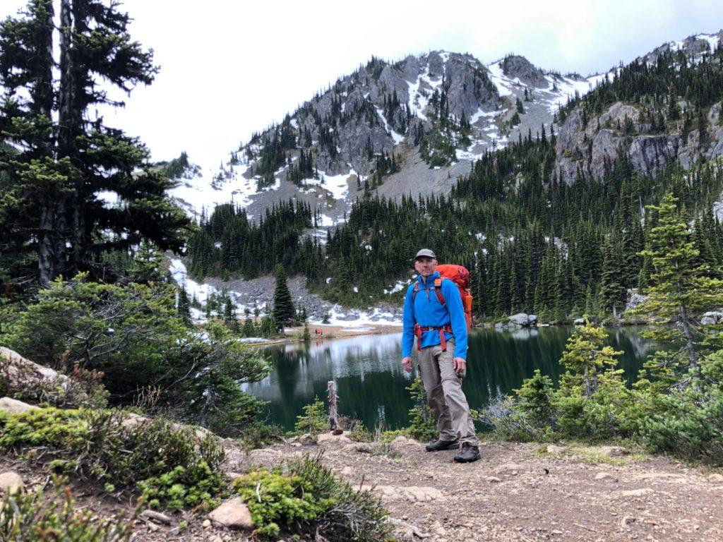 randonnée au nord-ouest du Pacifique Richard-Sampson-Silver-Lakes