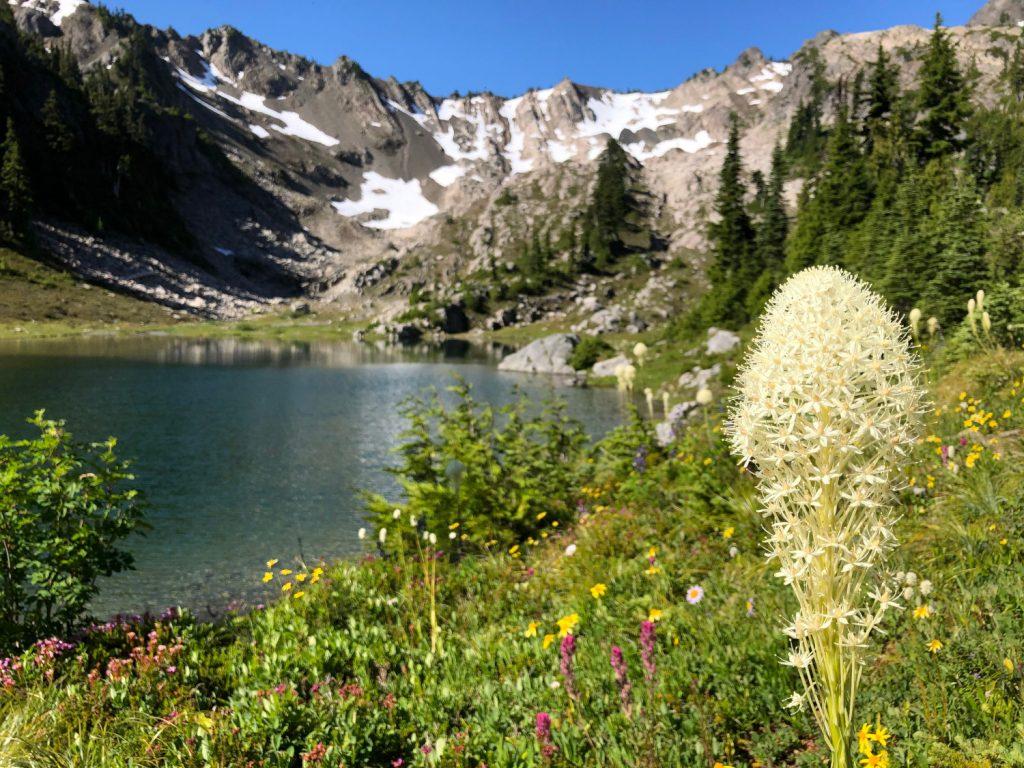 randonnée au nord-ouest du Pacifique Richard-Sampson-Lake-of-the-Angels