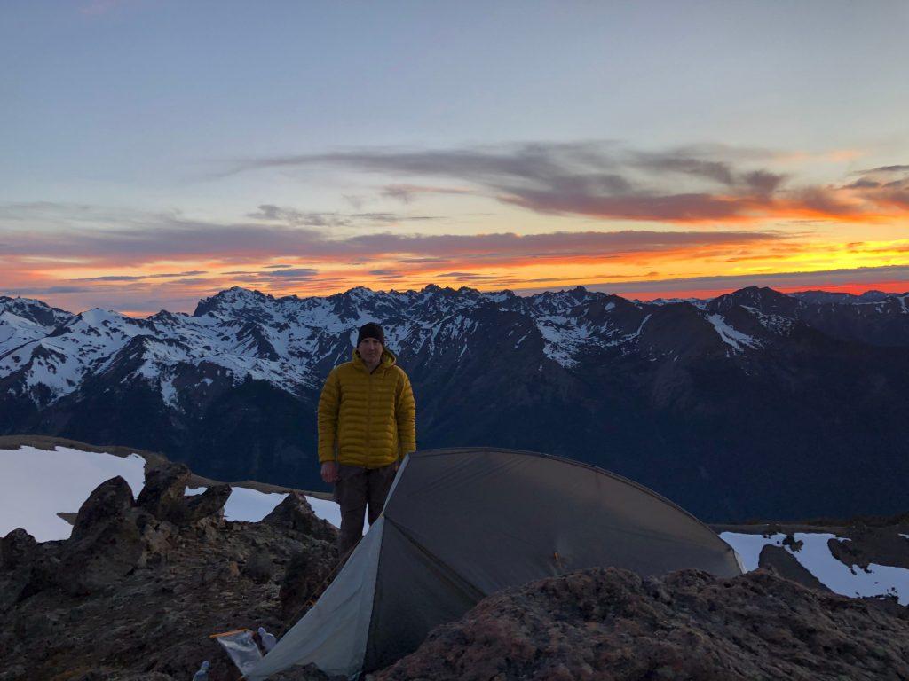 randonnée au nord-ouest du Pacifique Richard-Sampson-Buckhorn-Mountain