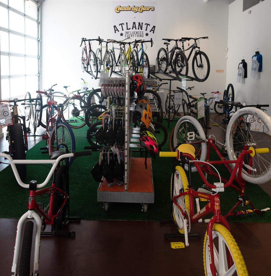 Fabriqué par Mars Bike Pop-up Atlantic Station