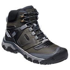 Bottes de randonnée imperméables KEEN Ridge Flex Mid pour homme