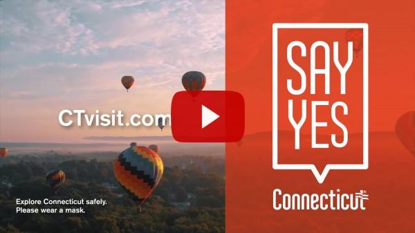 Vidéo de la campagne de tourisme Dites oui au Connecticut